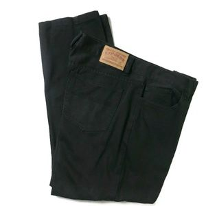 Express 5 Pockets Black Jeans Size 38 x 30 Boot Cu